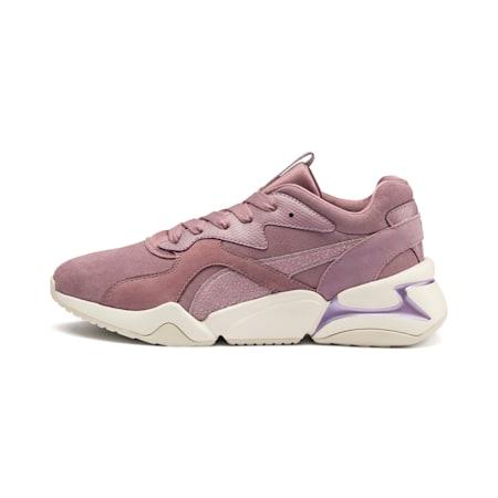 Nova Pastel Grunge Women's Shoes, Elderberry-Elderberry, small-IND