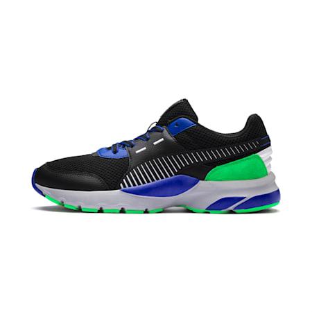 Future Runner Premium Men's Running Shoes, Puma Black-Surf The Web, small