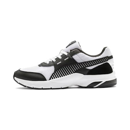 Future Runner Premium SoftFoam+ Running Shoes, Puma White-Puma Black, small-IND