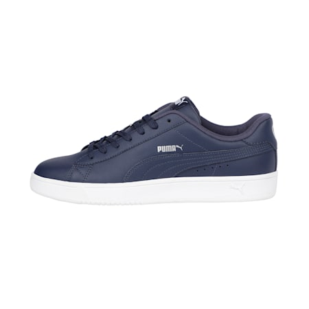 Court Breaker Derby Shoes, Peacoat-Silver-Puma White, small-IND