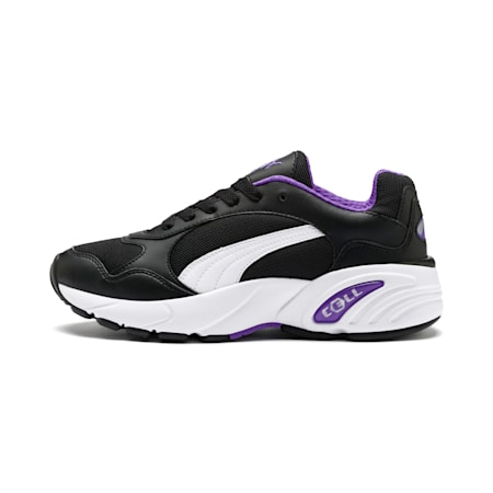 CELL Viper Trainers, Puma Black-Purple Glimmer, small