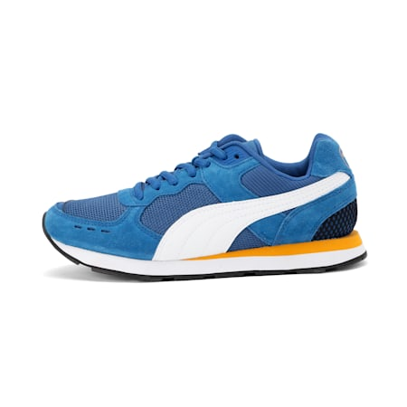 Vista SoftFoam+ Sneakers JR, Galaxy Blue-Puma White, small-IND