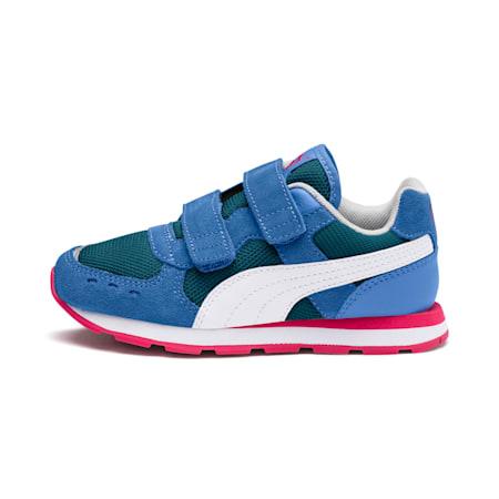 Vista V Kids' Shoes, Ultramarine-Puma White-Heather, small-IND