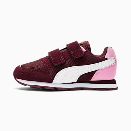 Vista Little Kids' Shoes, Burgundy-Puma White, small