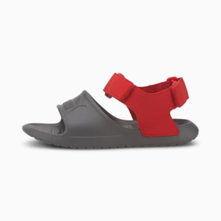 Divecat v2 Injex Kids' Sandals, CASTLEROCK-High Risk Red, small-SEA