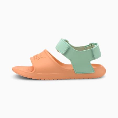 Divecat v2 Injex Kids' Sandals, Cantaloupe-Mist Green, small-SEA