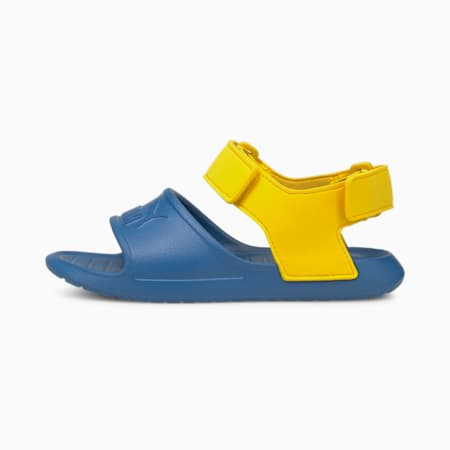 Divecat v2 Injex Kids' Sandals, Star Sapphire-Dandelion, small-IND