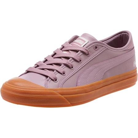 Capri Metallic Women's Sneakers, Elderberry, small