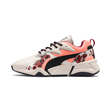 PUMA x SUE TSAI Nova Cherry Bombs Women's Trainers, Powder Puff-Puma Black, small-SEA