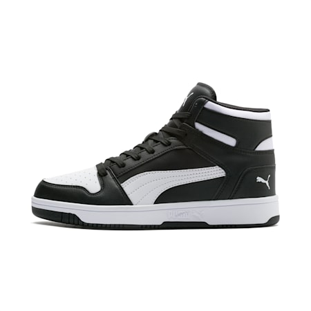 Rebound Lay Up Sneaker, Puma Black-Puma White, small