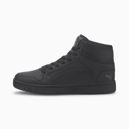 PUMA Rebound LayUp Sneakers, Puma Black-Dark Shadow, small