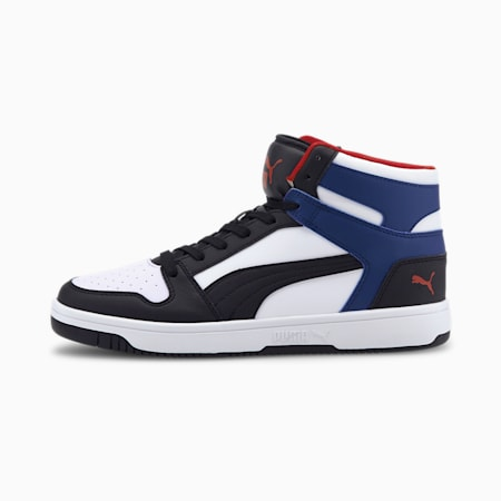Rebound Lay Up SoftFoam+ Sneakers, White-Puma Black-Limoges-Red, small-IND