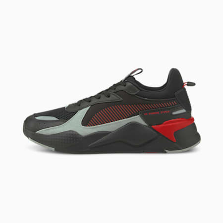 PUMA x RS-X Reinvention Unisex Sneakers, Puma Black-High Risk Red, small-IND