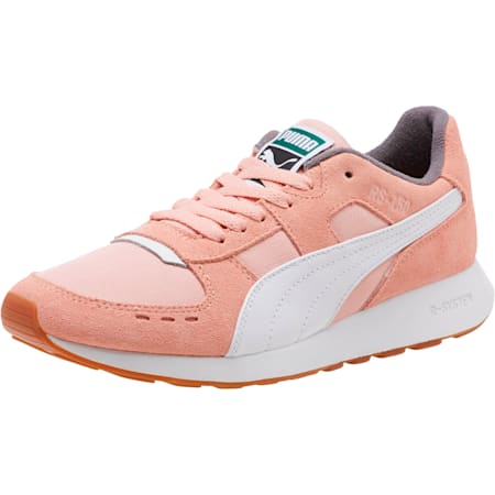 RS-150 Nylon Women's Sneakers, Coral Cloud-Puma White, small