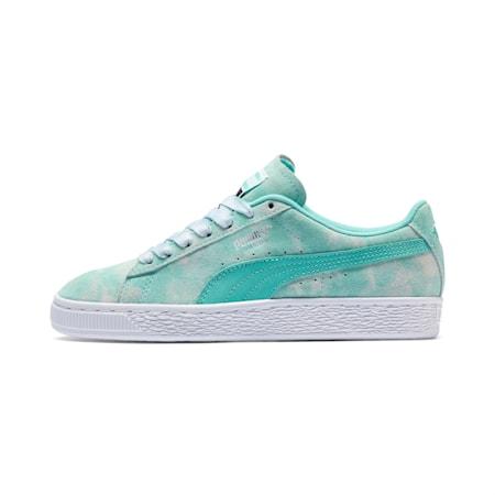PUMA x DIAMOND SUPPLY CO. Suede Sneakers JR, Diamond Blue-Diamond Blue, small
