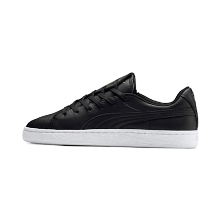 Basket Crush Emboss Women's Shoes, Puma Black-Puma Team Gold, small-IND