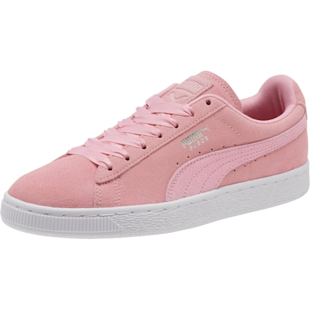 Suede Galaxy Women's Sneakers, Pale Pink-Puma Silver, small