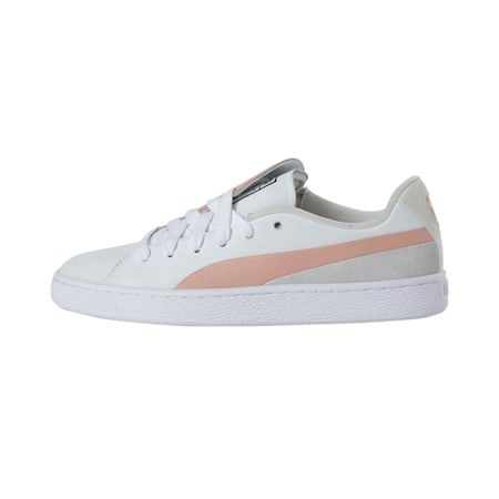 Basket Crush Paris Women's Sneakers, Peach Beige-Puma White, small-IND