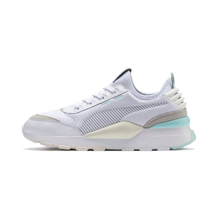RS-0 Core Unisex Shoes, Puma White-Gray Violet-Whisper White, small-IND