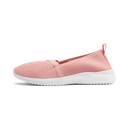 Adelina Slip-On Women's Shoes, Bridal Rose-Gold-White, small-IND