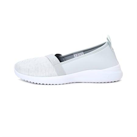 Adelina SoftFoam+ Women's Ballet Shoes, Plein Air-Puma Silver-Puma White-Peacoat, small-IND