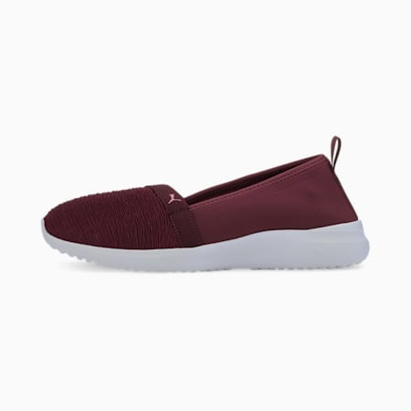 Adelina SoftFoam+ Women's Ballet Shoes, Burgundy-Salmon Rose, small-IND