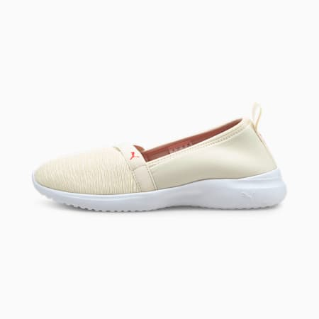 Adelina Slip-On Women's Trainers, Ivory Glow-Paradise Pink, small-GBR
