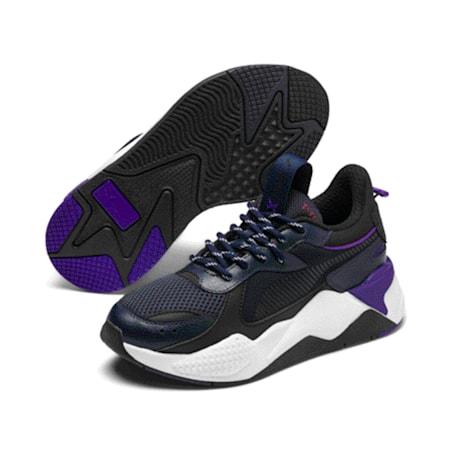 Zapatos deportivos RS-X Tracks para JR, Puma New Navy-Puma Black, pequeño