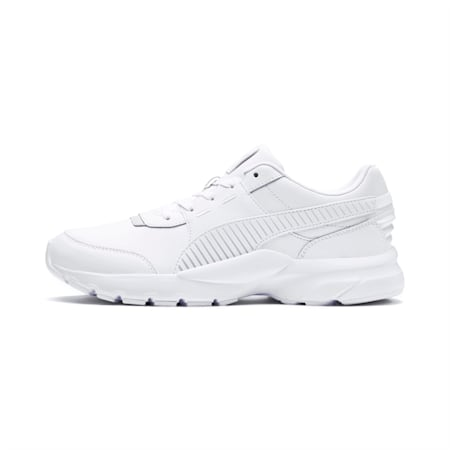 Future Runner L Trainers, Puma White-Gray Violet, small