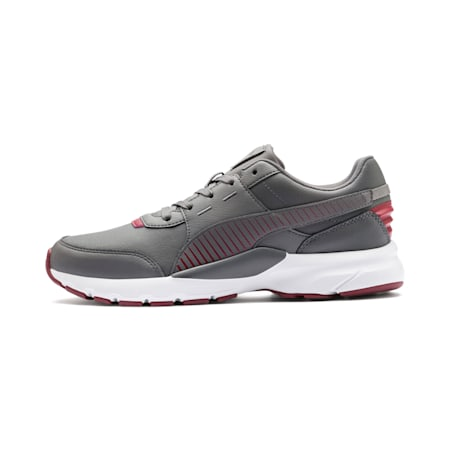 Future Runner L SoftFoam+ Shoes, CASTLEROCK-Rhubarb-White, small-IND