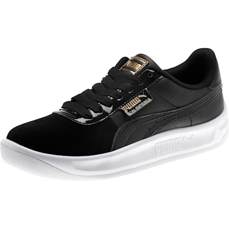 California Monochrome Women's Trainers, Puma Black-Puma Team Gold, small-SEA