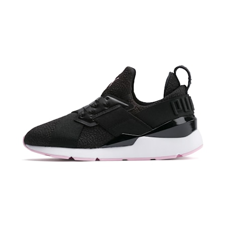 Muse Trailblazer Women's Trainers, Puma Black-Pale Pink, small-SEA