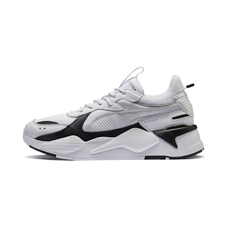 RS-X Trainers, Puma White-Puma Black, small
