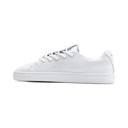 Basket Crush Perf Women's Shoes, Puma White-Puma White, small-IND