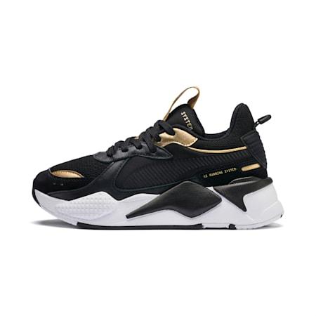 RS-X Trophy Sneakers JR, Puma Black-Puma Team Gold, small
