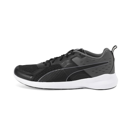 Pacer X Graphicster IDP Shoes, Black-Asphalt-Puma White, small-IND