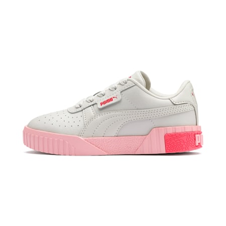 Cali Girls' Trainers, Gray Violet-Calypso Coral, small