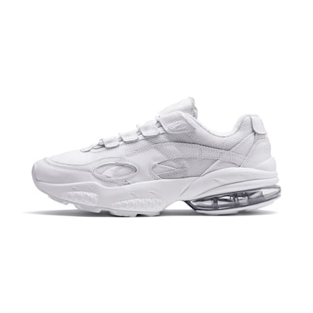 Cell Venom Reflective Trainers, Puma White-Puma White, small-SEA