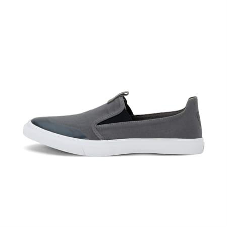 Lazy Knit Slip on IDP Men's Sneakers, CASTLEROCK-Puma Black, small-IND