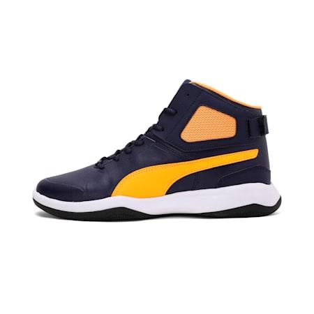 Rebound BBX Mesh IDP Men's Shoes, Peacoat-Orange Pop, small-IND
