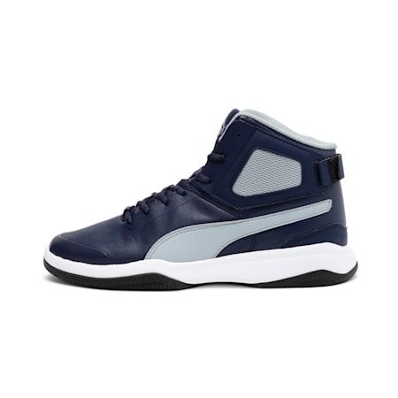 Rebound BBX Mesh IDP Men's Shoes, Peacoat-Quarry-Puma White, small-IND