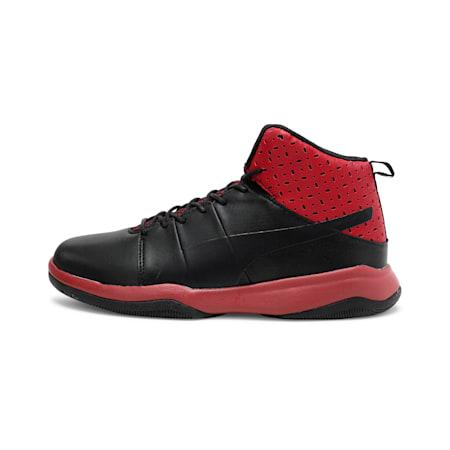 Rebound BBX Perf IDP Men's Sneakers, Puma Black-Rhubarb, small-IND
