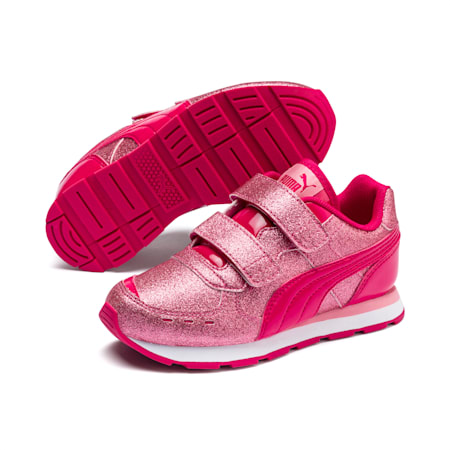 Vista Glitz Little Kids' Shoes, BRIGHT ROSE-Peony, small