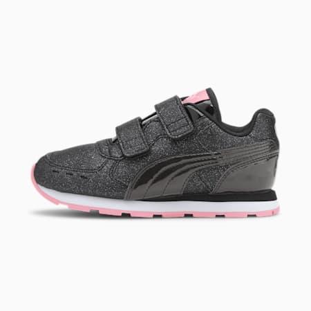 Vista Glitz V Kids' Shoes, Puma Black-Black-Pale Pink, small-IND