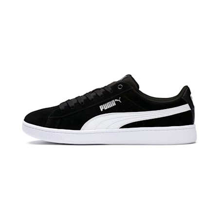 PUMA Vikky v2 Women's Sneakers, Puma Black-Puma White-Silver, small