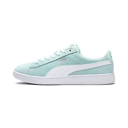 PUMA Vikky v2 Women's Sneakers, Fair Aqua-White-Puma Silver, small