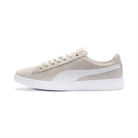 Damskie tenisówki PUMA Vikky v2, Silver Gray-Puma White-Puma Silver, small