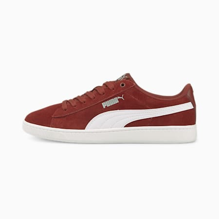 PUMA Vikky v2 SoftFoam+ Women's Sneakers, Intense Red-Puma White-Puma Silver, small-IND