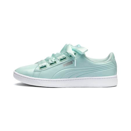 Vikky v2 Ribbon Women's Shoes, Fair Aqua-Puma Silver, small-IND