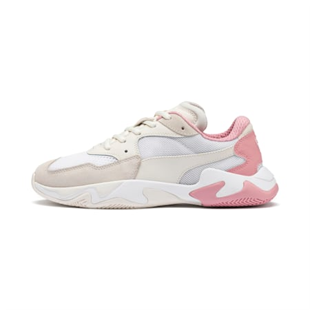 Storm Origin Shoes, Pastel Parchment-Puma White, small-IND